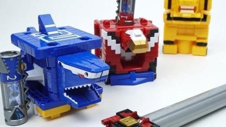 百兽战队动物机械盒子拼装变形金刚机器人