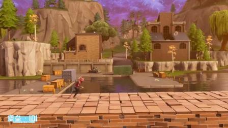 我在堡垒之夜玩超级马里奥!