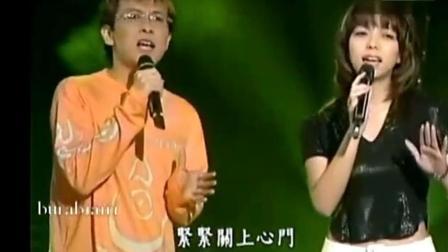 1993年张惠妹与张雨生同台献唱《最爱的人伤我最深》, 阿妹好瘦!