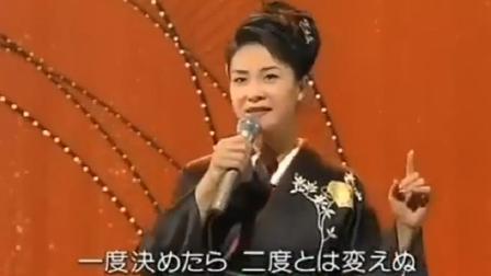 日本歌姬 一句没听过, 但就是觉得表演很好, 眉目