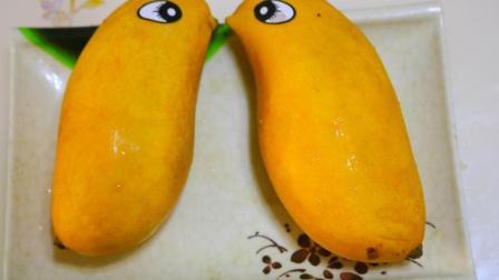 教你自制最简单的芒果雪糕, 只需2步程序, 冰凉清爽, 软滑不起冰