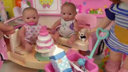 婚礼生日冰雪女王佩奇蛋糕 儿童玩具故事