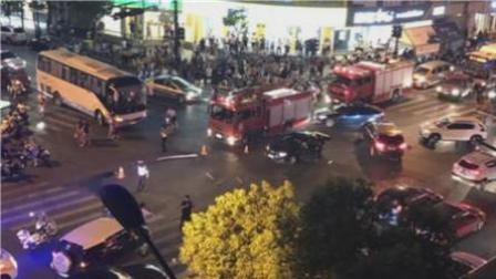 杭州女司机驾车失控撞人致2死13伤