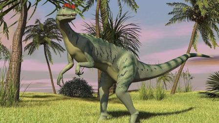 侏罗纪世界之逃走的帝王暴龙  侏罗纪鳄鱼模拟搞笑生存