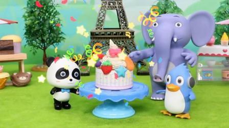 宝宝巴士玩具 第101集 冰淇淋蛋糕争霸赛
