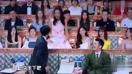 韩国大美女离薛之谦太近了, 汪涵实在看不下去了