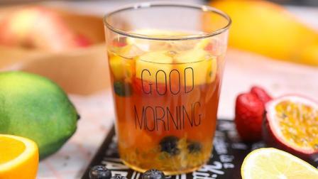 高颜值网红水果茶, 在家就能轻松做, 比卖的还好喝!