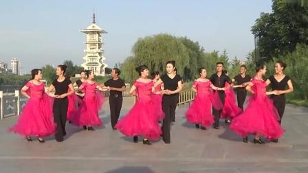 广场交谊舞 北京平四《火火的中国》