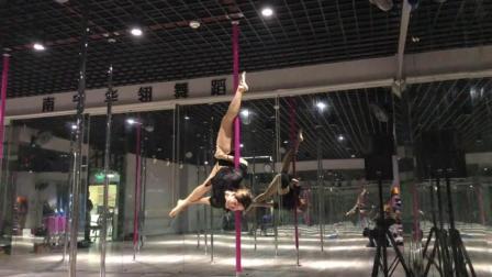 南宁华翎舞蹈培训学校, 木子老师钢管舞展示《紫》