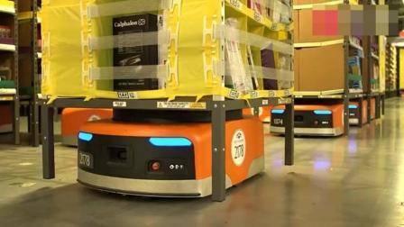 现代科技: 亚马逊物流, 机器人取代了99%的人工