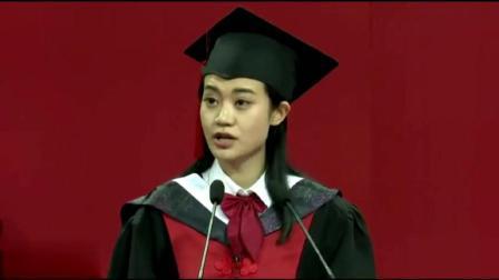 北京大学美女博士学医8年  只为救更多的人  发言感人