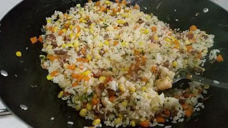 胡萝卜玉米叉烧饭, 小孩最喜欢的炒饭