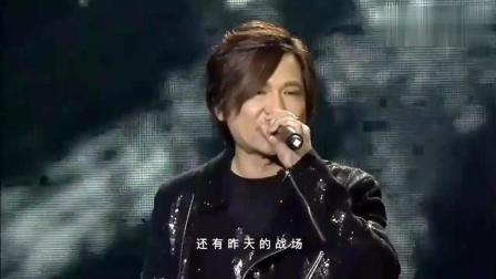 叶世荣、高进演唱会现场合唱一首《长城》唱出了不一样的感觉