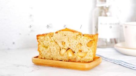 肉桂苹果磅蛋糕
