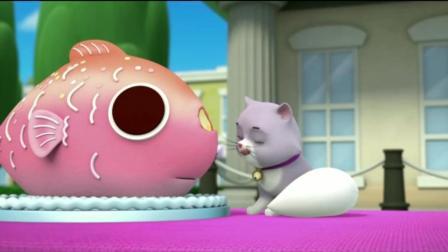 《汪汪队立大功》阿宝船长的鱼蛋糕很漂亮, 莉莉也喜欢呢