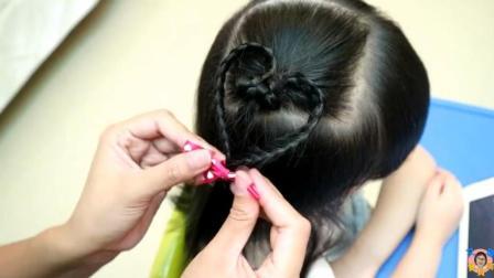 儿童漂亮辫子的详细编法教程, 五分钟让女儿变身美美哒小公举!