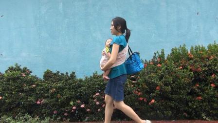 在台湾工作的新手妈妈记录自己忙碌的一天, 除了工作就是带孩子!