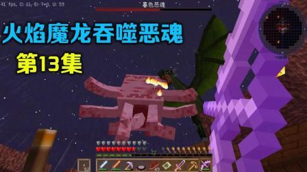 【我的世界幻梦】冰火之龙第二季P13: 火焰魔龙吞噬暮色恶魂!