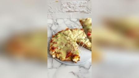 自己在家也可以做披萨! 馒头披萨