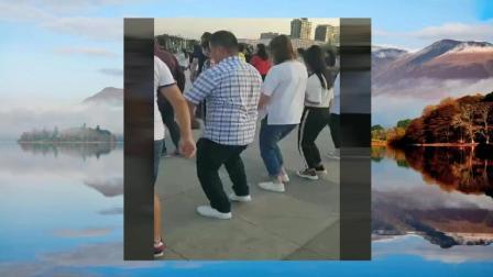 男人跳广场舞, 这也太娘了吧