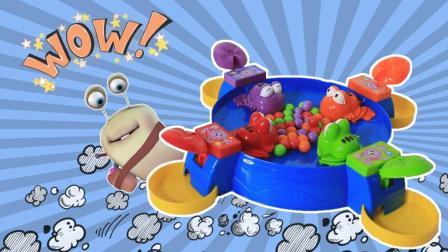 青蛙游戏 吃货大比拼开始啦