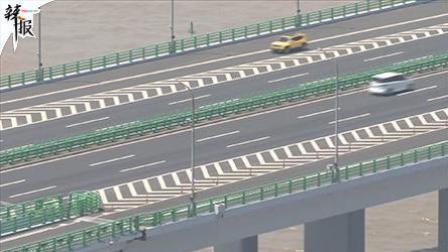 杭州湾跨海大桥施行高温限速