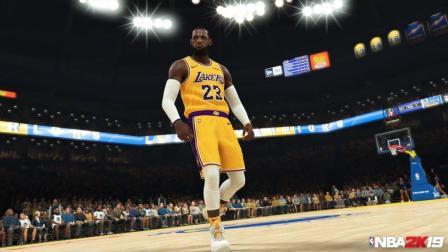 《NBA 2K19》官方公布詹姆斯新截图 大赞皇帝新衣好看