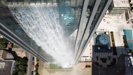 厉害了! 航拍全世界最高人造瀑布