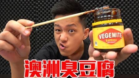 体验一下网上的澳洲臭豆腐! 感觉全是酱油味! 闻着香吃着臭