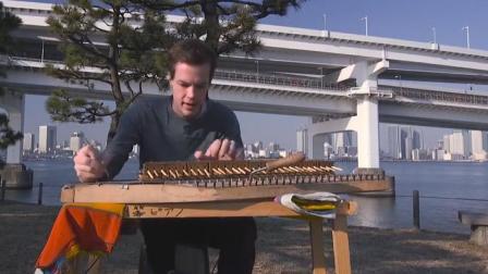 你见过用筷子做成的钢琴吗