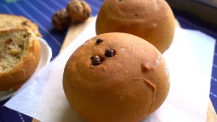 用红糖来做面包, 不用一滴油, 松软香甜又营养健康