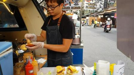 台北这个流动餐车, 一周只卖一天, 尝尝他家的汉堡, 是否真的好吃