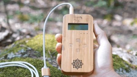 新奇的高科技发声器, 能让植物开口唱歌, 你信吗?