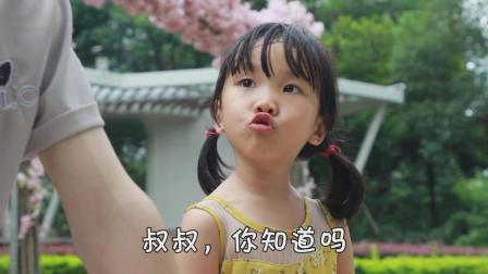 小可爱狂吃糖果, 陌生的哥哥劝告她, 却被说多管闲事!