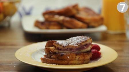 法式早餐, 树莓芝士吐司