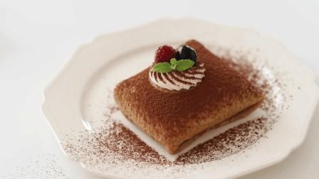 自制美味的提拉米苏可丽饼, 成品也可以做成千层蛋糕哦!