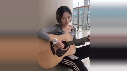 全网最火吉他小姐姐, 声音好甜美