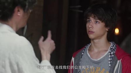 《勇士之门》  吴镇宇饰演巫师 轻而易举制服千人