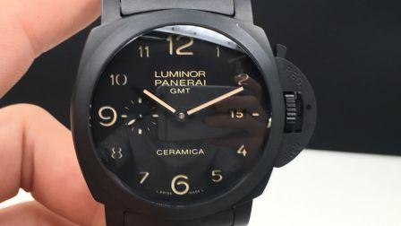 VS最新升级版本 沛纳海438全陶瓷机械腕表 升级自产P9001机芯功能和正品同步