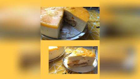 芒果慕斯蛋糕教程