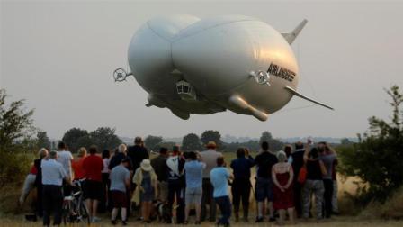 世界上最大的飞行器, 在舱底换上透明玻璃, 真的不害怕吗?