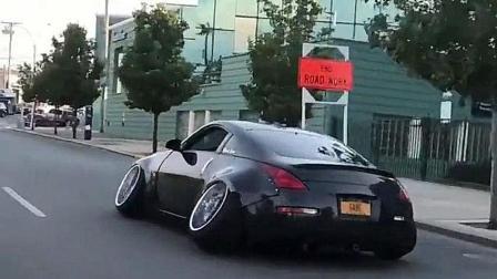把汽车改装成这样, 难道不担心轮胎损伤吗?
