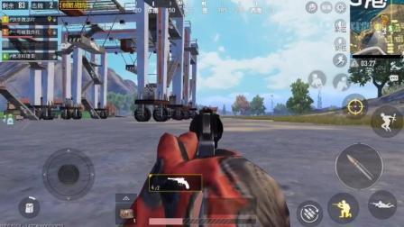 绝地求生: 刺激战场, 这把小手枪, 打出了AMW的效果