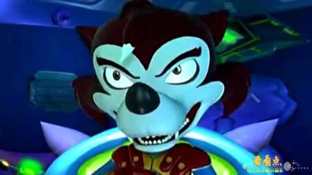蓝猫龙骑团: 大怪兽跟垃圾王战斗, 谁会赢呢? 太逗了