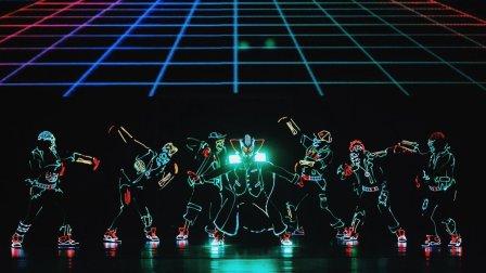 VR花式玩法:Light Balance VR主题光影舞蹈秀,燃爆你的眼球!