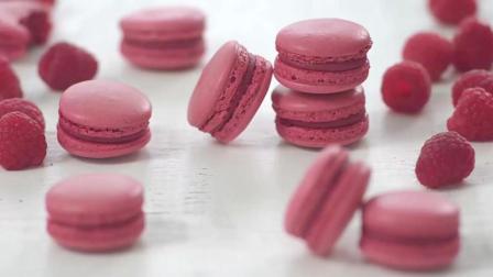 粉红马卡龙制作方法, 在家里也可以吃到好吃的美味了