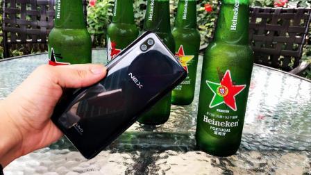 「玩·酷」用vivo NEX的升降镜头开啤酒瓶盖结果会怎样?