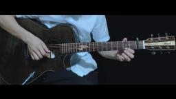毛不易《消愁》指弹版 音乐人张紫宇 布鲁克S25油墨色试听 靠谱吉他