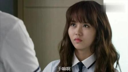 《学校2015》韩以安算是再次见识了高恩星的脾气, 还真不是一般火爆