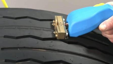 汽修厂必备神器, 汽车轮胎花纹修复工具, 轻松修复轮胎一招搞定!